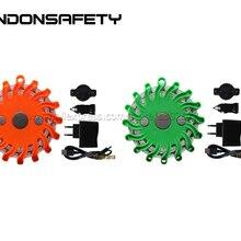 6 шт.! Предупреждение светофора, аварийного светодиодный дорожный вспышек мигать безопасности маяк/Varningsljus/Warnleuchten/Blitzblink