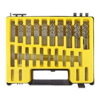 0 4 3 2mm 150Pcs Micro Precision Mini Twist Drill Bit Kit HSS With Carry Case