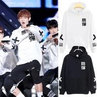 BTS Kpop Sweatshirts Hoodies Women Men Tops Bangtan Boys Plus Size 3xl 4xl Jimin Jin Suga