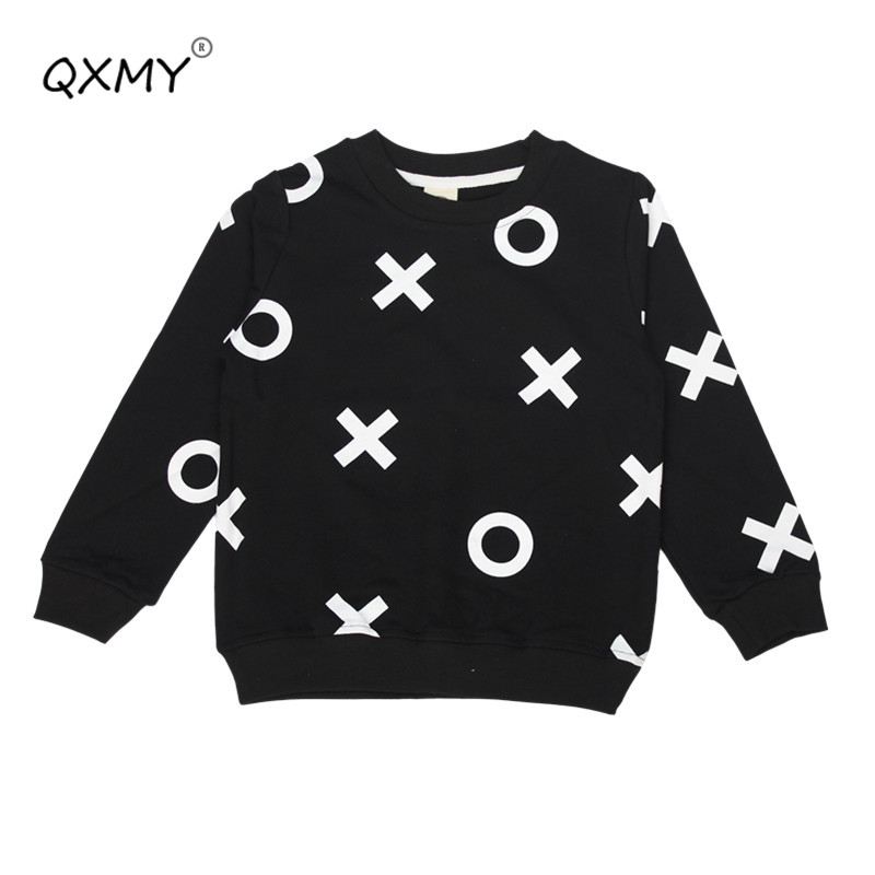 Boys Tops Sweatshirt Baby-Girls Kids Cotton Children New Hot Infant Outwear Tees 2-6Y
