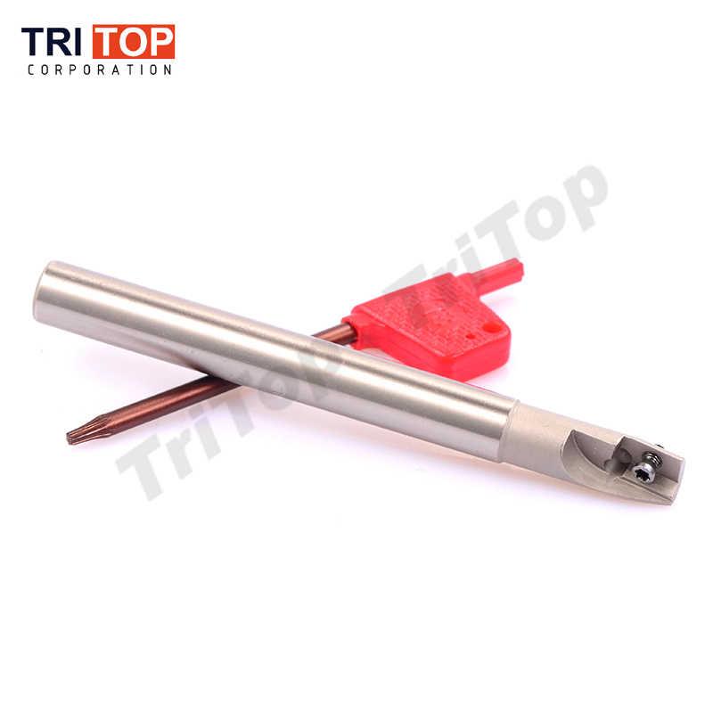 Suporte da ferramenta de moagem JAP BAP 300R C10-10-100 rosto moinho ombro cortador para fresadora para APMT1135 inserção APKT 1 dente cabeça