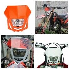 Papanda Orange Dual Спорт внедорожные мотоциклетные Фары Универсальный Головной фонарь эндуро для KTM EXC EXCF XCF XCW SX SXF SMR