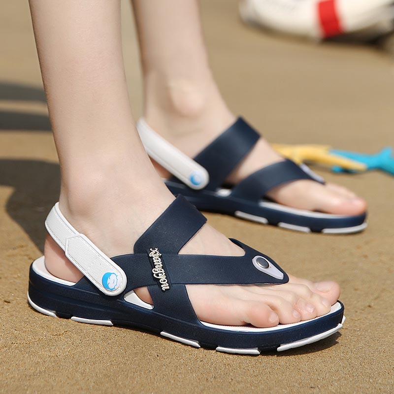 2016 mens sandals summer breathable shoes flip flop casual
