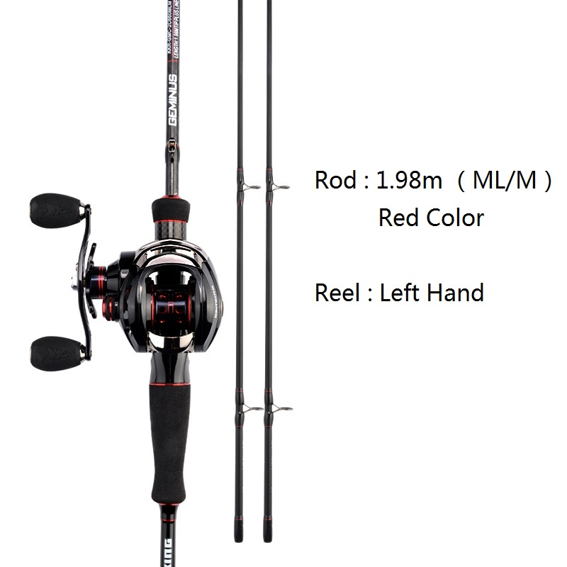 red 1.98m left hand