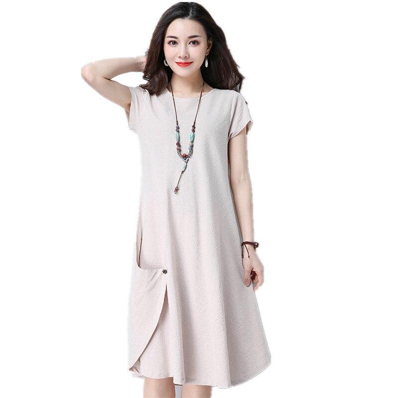 Распродажа льняные платья