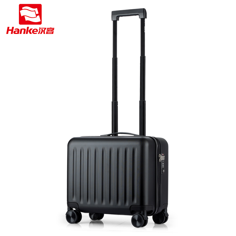 Hanke PC Rolling Luggage Spinner Trolley Carry on Luggages with Universal Wheels Boarding Case Commercial Travel Suitcase Bag