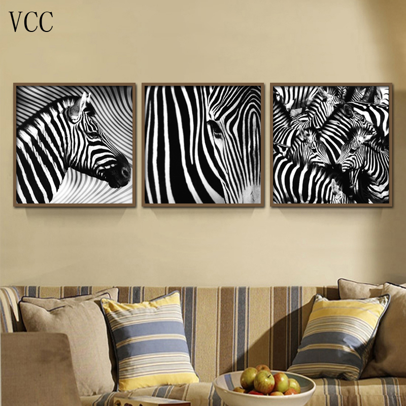 Wall art zebra picture print on canvas paintingpaintings on the wall art zebra picture print on canvas paintingpaintings on the wall pictures for living room cuadros decorationhome decor in painting calligraphy from altavistaventures Images
