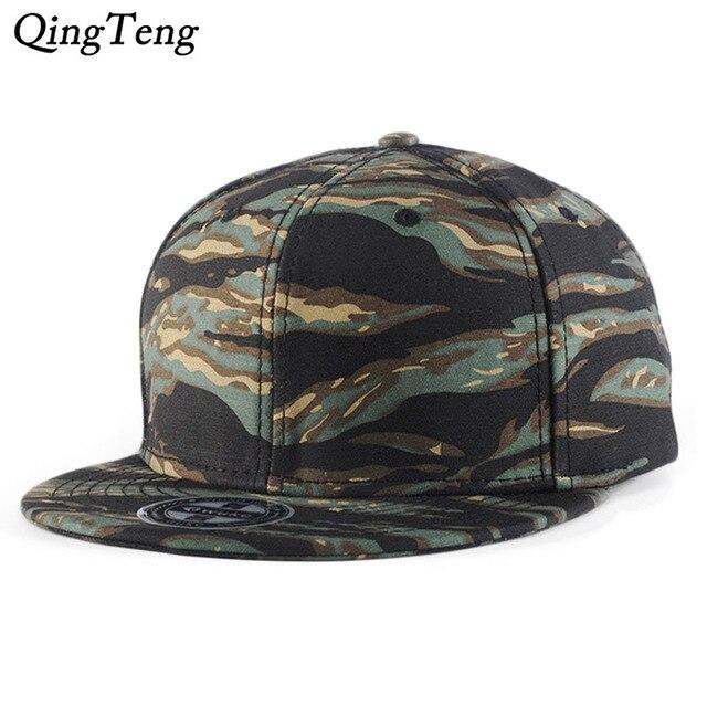 9a8d0412a8183 Camo gorra de béisbol Mens Snapback sombreros para hombres 2019 nuevo