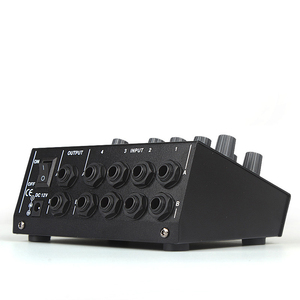Image 2 - FELYBY MIX 8 Mini Reverb Mixer 8 Channel Portable Professional mixer Home K Song Live recording voice activated  for microphone