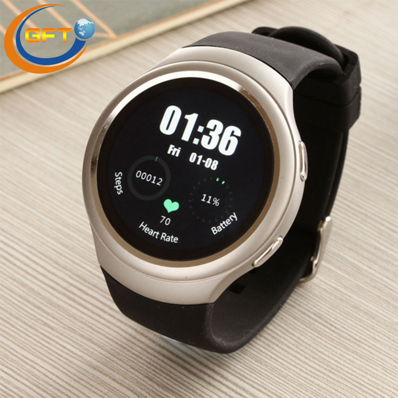 GFT D09 Smart Watches gps heart rate monitor business smartwatch sim watch font b MP3 b