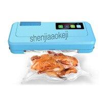 Домашняя вакуумная запечатывающая машина для домашнего и коммерческого использования автоматическая сушилка влажная двойного использова