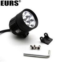 EURS Motorcycle Headlight Bulb External DRL L6X Fog Light White 6LED Brand chips Spotlight Lamp Bulb for Motorcycle 6000K 4000LM