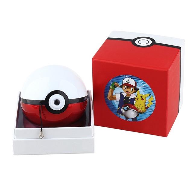 Cargador del Banco de Energía 12000 mah Pokeball Generation5 Christom Regalo de navidad Juego de Pokemons Ir Powerbank Móvil del Empuje de la bola de la lámpara de Proyección