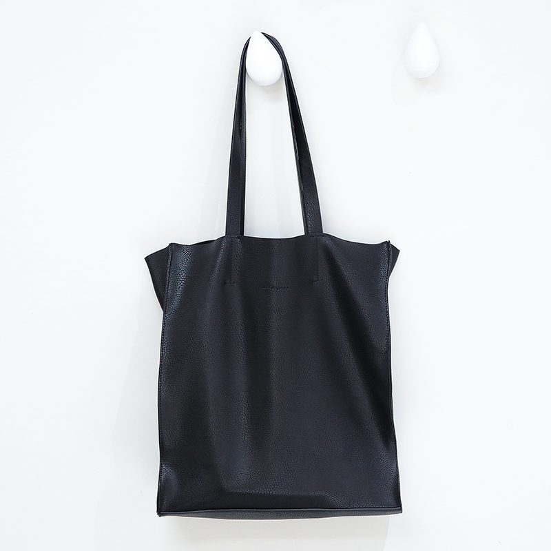 Designer women handbag Large capacity Black shopping bags Quality PU leather Women's big Totes Casual female Shoulder bags bolsa