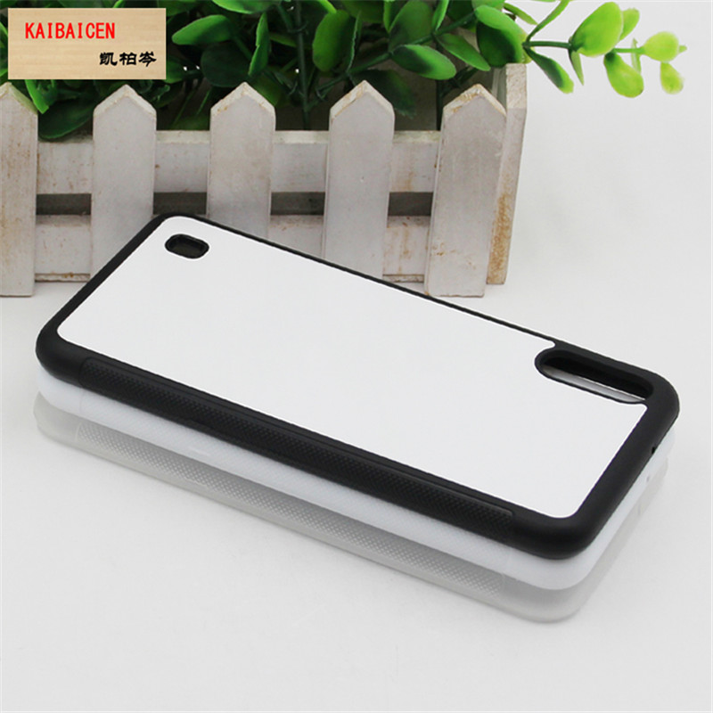 DHL Freeshipping For Samsung M10 Case TPU+PC soft 2D Sublimation Blank Heat transfer Phone Cover Case-in Half-wrapped Cases from Cellphones & Telecommunications    3