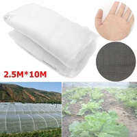 2.5x10m 8x32ft Vegetable Netting Mesh Insect Mosquito Anti Bird Net Greenhouse Garden Crop Vegetable Protection Fine Mesh Cloth