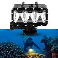 Lightdow Impermeable Subacuática Buceo Luz de Vídeo LED para LD4000 LD6000 LD 4 K para Gopro Hero 1 2 3 3 + 4 para SJ4000 SJCAM SJ6000