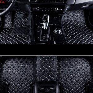 Car Believe car floor mat For renault logan megane 2 captur kadjar fluence laguna 2 scenic koleos Espace accessories carpet rugs(China)