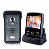 3 5inch Waterproof Wireless Door Intercom Video Intercom Monitor Camera Doorbell Video Door Phone For Apartment