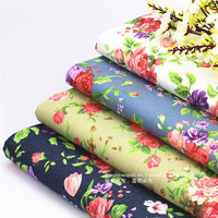 Tecidos Tissus Patchwork Free Shipping New Autumn Reactive Printing Leggings Cotton Cloth Stretch Jeans Dress Flowers Fabric