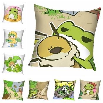 Lovely Item Chic  New Baby Kids Toys Modern Frog Pillow Gift Frog   Pillow Plush