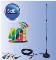 Oshinvoy 4 г LTE магнит штыревая антенна 5dBi 2690 м LTE SMA штыревая антенна 698-2700 мГц маршрутизатор антенны
