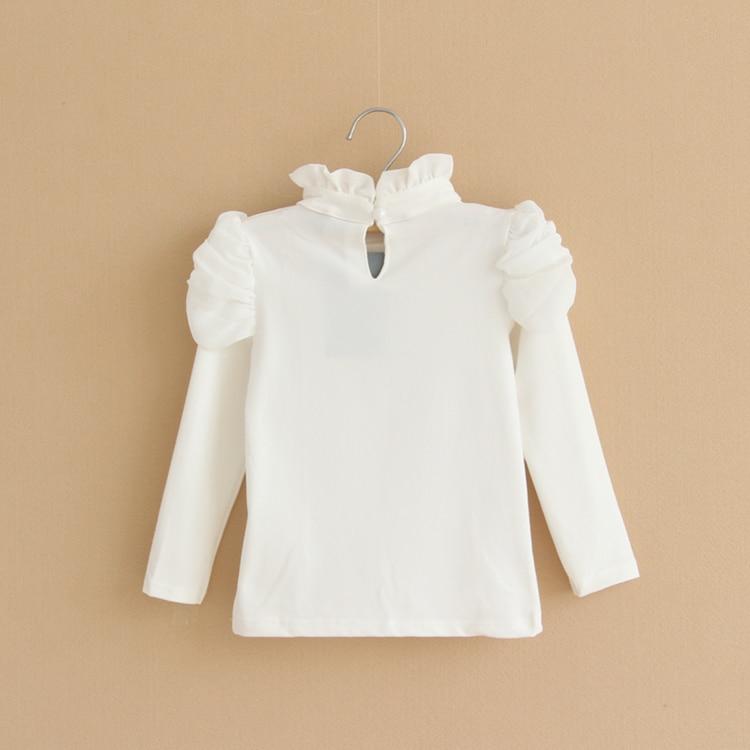 Mädchen Rollkragen Langarm Basic Pullover Kinder Frühling Herbst - Kinderkleidung - Foto 4