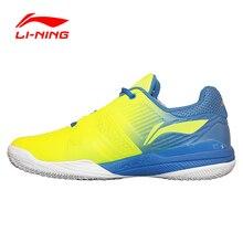 Стабильности амортизацию li-ning теннисные туфли профессиональные дышащий спортивная поддержка кроссовки мужские