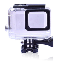 Wholesale 10PCS for GoPro 5 Waterproof Case for Hero 5 45M Diving Housing Case for Go Pro Hero5 Black Action Camera Accessories
