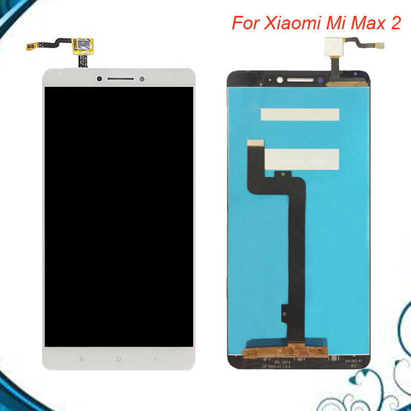For Xiaomi Mi Max 2 LCD Display+Touch Screen Glass Panel Digitizer Accessories Replacement For Xiaomi Mi Max 2 Free Shipping
