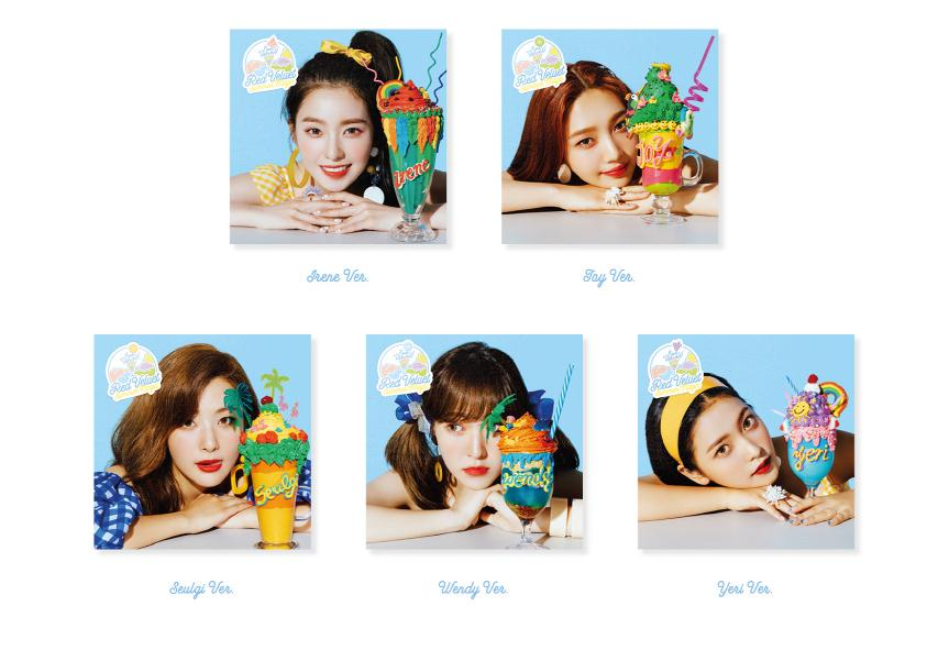 Red velvet  summer magic CD YERI (Mini Album)