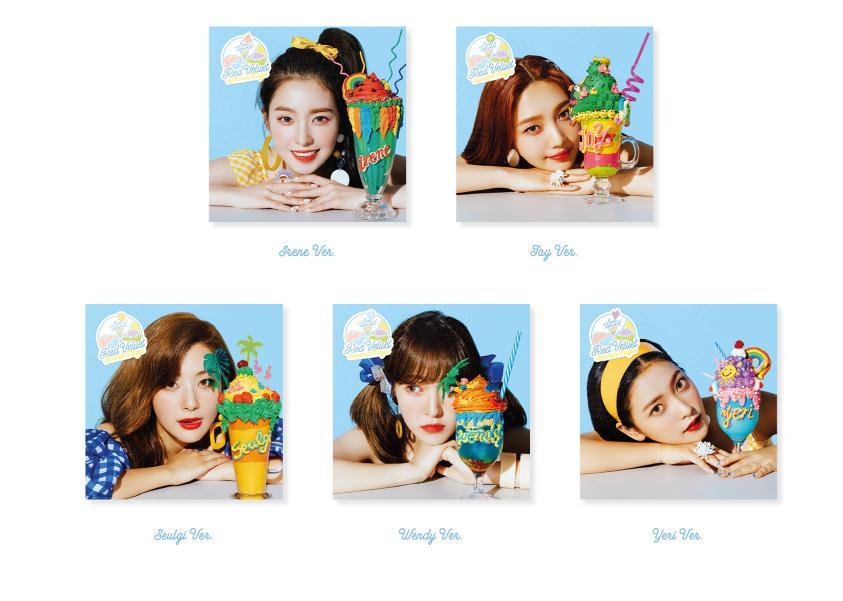 Red Velvet  Summer Magic CD YERI (Mini Album)