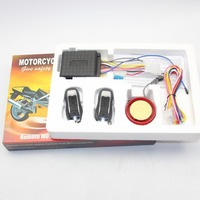 Motorcycle Alarm Anti Theft Security System Remote Control Motorbike 12V 125DB Shock Sensor Alarm Accessories