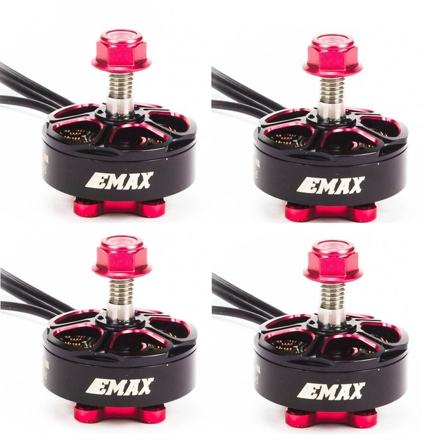 4set lot EMAX RSII 2206 1600KV 1700KV 1900KV 2300KV 2700KV Motor CW CCW for FPV RACER