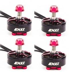 4 set/lotto EMAX RSII 2206 1600KV 1700KV 1900KV 2300KV 2700KV Motore CW CCW per FPV RACER Quadcopter Kvadrokopter RC Drone aeromobili
