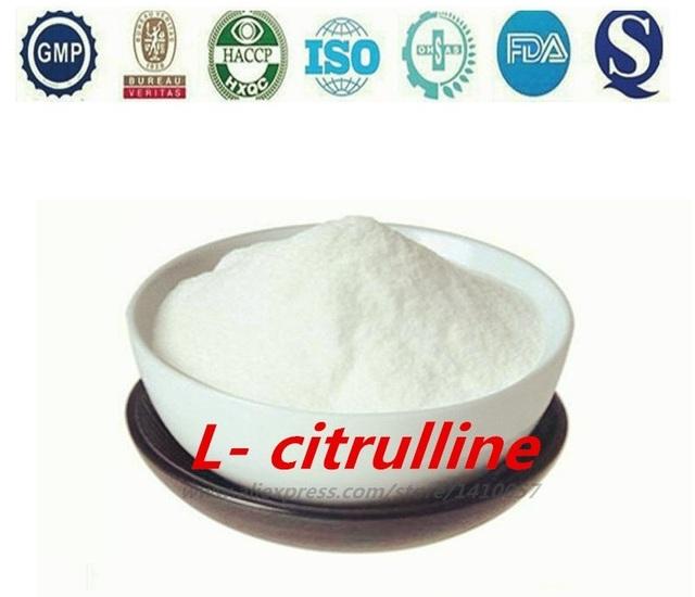 Série Aminoácido Citrulina Grau Alimentício Teor de 99% L-citrulina 1 kg de Produtos Naturais Da Saúde