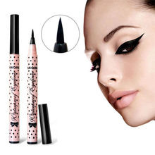 2019 Eyeliner Pen Makeup Cosmetic Black Pink Liquid Eye Liner Pencil Make Up Tool maquiagem(China)