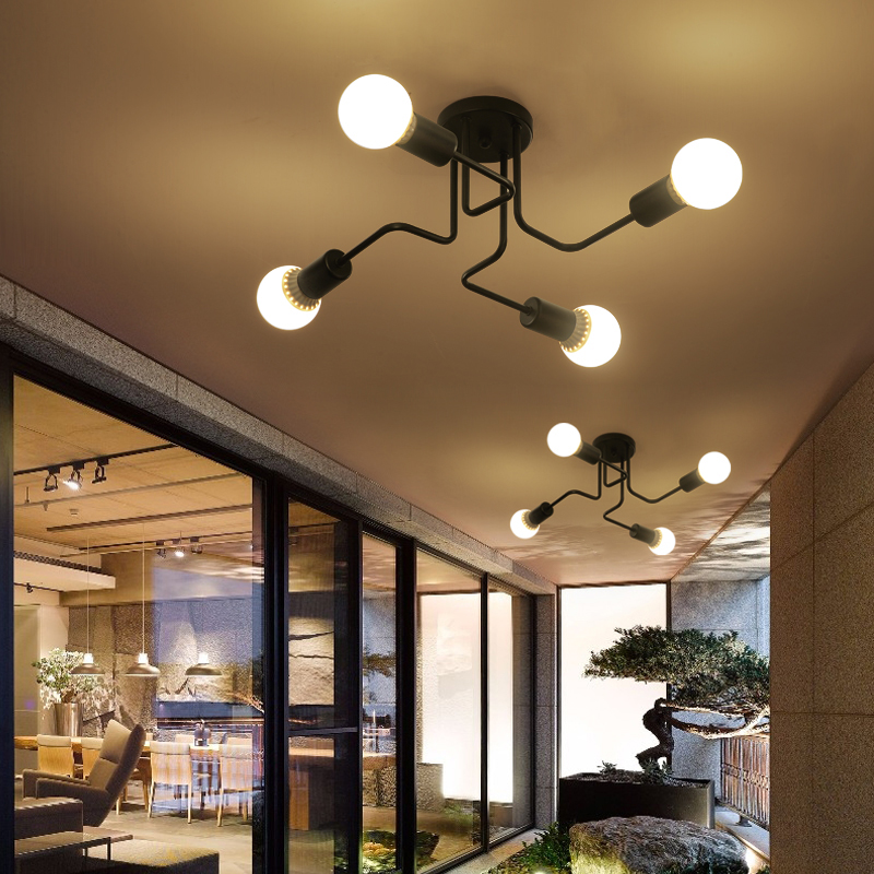 Metal Road Modern chandelier Free Shipping