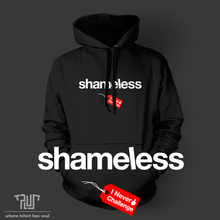 shameless I never challenge pullover hoodie sweatershirt men women unisex 82% organic cotton fleece high quality Free Shipping