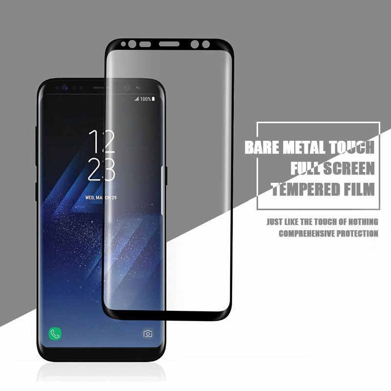 11D Pieno Curvo Vetro Temperato Per Samsung Galaxy S8 S9 Più Nota 8 9 Protezione Dello Schermo Per Samsung S6 S7 bordo Pellicola Protettiva