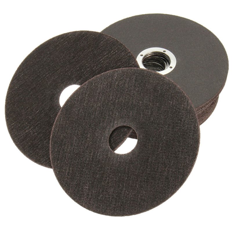 25Pcs Thin Metal Cutting Discs Stainless Steel Saw Blades For Angle Grinder 115mm 4.5 Top Quality 4115 34 1 10mm 6t m42 metal band saw blades 4115 34 1 1mm band saw blade 4115mm saw blades for cutting metal 4 6tooth 25 4mm 1pc