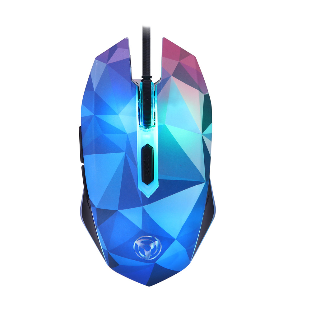 Good selling The Diamond Version Of The Illusion 3200DPI Wired Mouse With 7 Circular Souris de jeu oct.9 ...