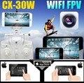 Hot 2.4 GHz 4CH 6 Eixos Giroscópio Wi-fi RC Quadcopter UFO FPV 0.3MP HD Câmera de Vídeo Em Tempo Real