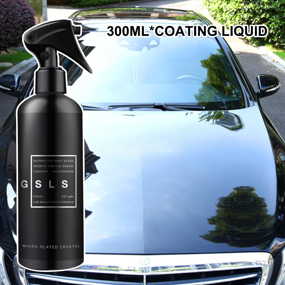Goxfaca 300ML Full Car Nano Coating Liquid Coating Spray Hydrophobic Wax Car Paint Care Coating Liquid Crystal Protective Film