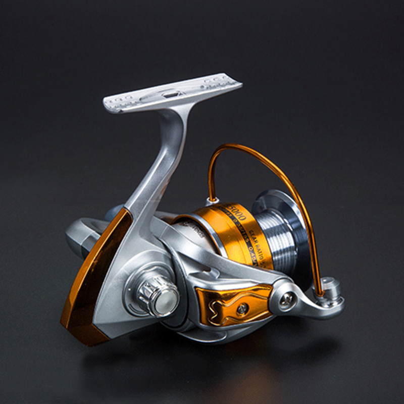 Nuevo 6BB Spinning Fishing Reel 2000-6000 5.5: 1 Carrete de pesca de - Pescando