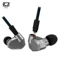 KZ ZS5 Hifi Earphone 2DD 2BA Hybrid Headphone High Definition Audio Earbuds Stereo Metal DJ Monitor
