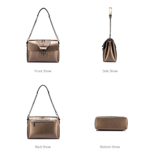 Women crocodile print crossbody bag (6 colors)