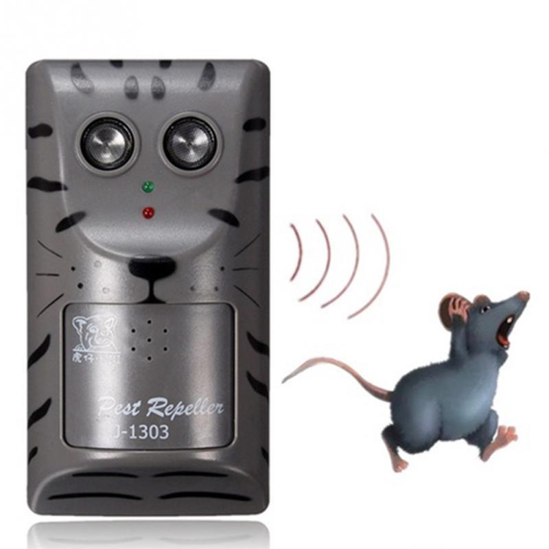 EU/US Plug практическая Электронный ультразвуковой Борьба с вредителями отпугиватель крыс Москитная Мышь насекомых грызунов Быстрая доставка