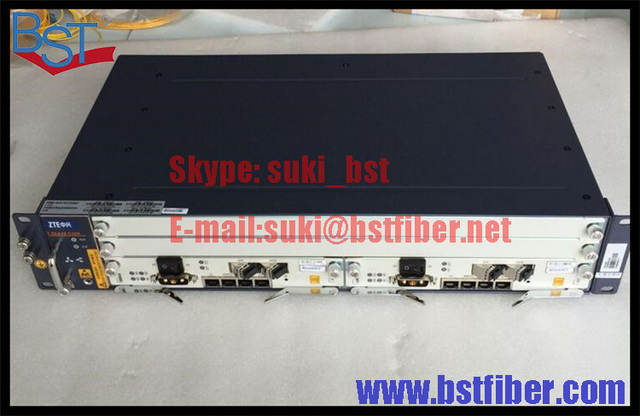 procurement service ZTE ZXA10 C320 OLT Chassis, with 2pcs SXMA card, DC power supply, support GPON and EPON card.