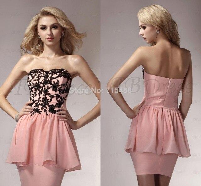 Italian Lace Short Prom Dresses